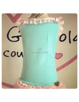Grace Graciola Pink & Tiffany Top Tank