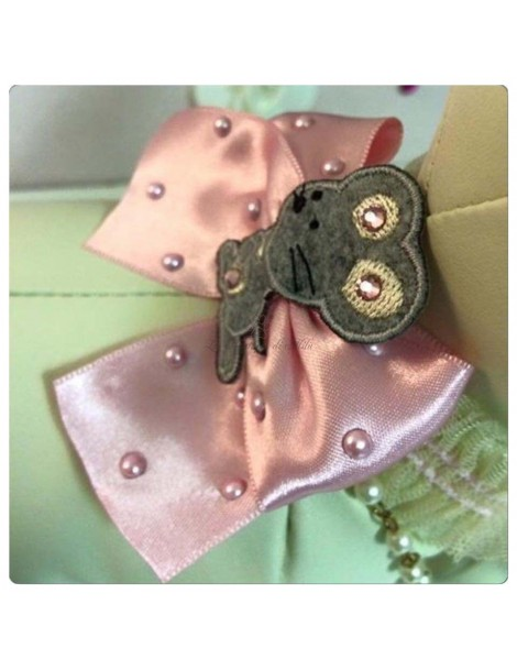 Grace Graciola Mouse Pearl Necklace