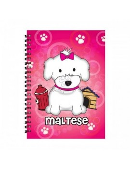 Notebook Girl Maltese