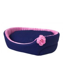 Cuccia a divanetto Rosa Preziosa Jeans Special