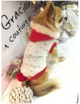 Red Studs Santa's Pull Grace Graciola