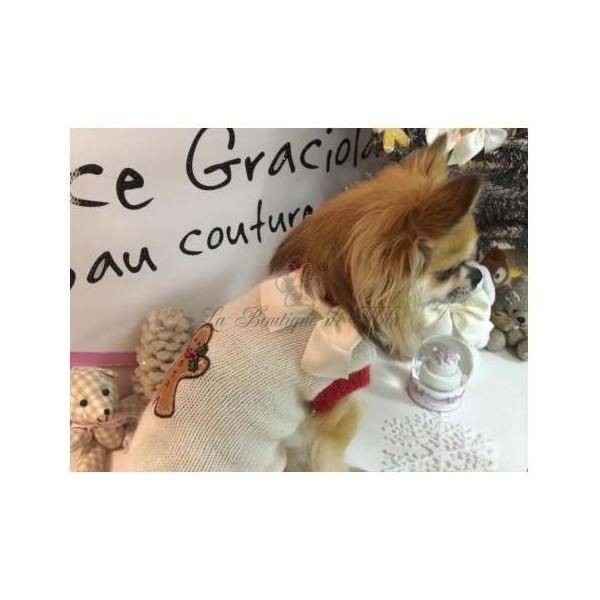 White Star Gingerbread Pull Grace Graciola