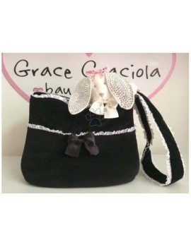 Gym Bag Black Grace Graciola