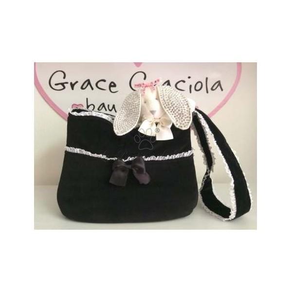 Gym Bag Black Grace Graciola