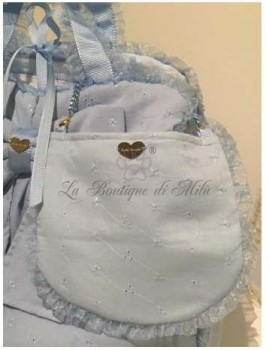 Pic Nic Bag Baby Blue San Gallo Grace Graciola