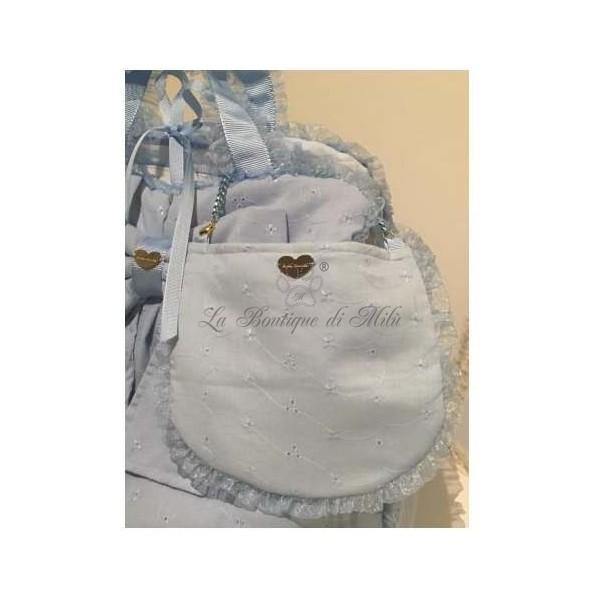 Pic Nic Bag Baby Blue San Gallo Grace Graciola