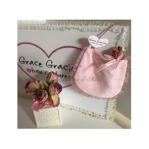 Pic Nic Bag Pink San Gallo Grace Graciola