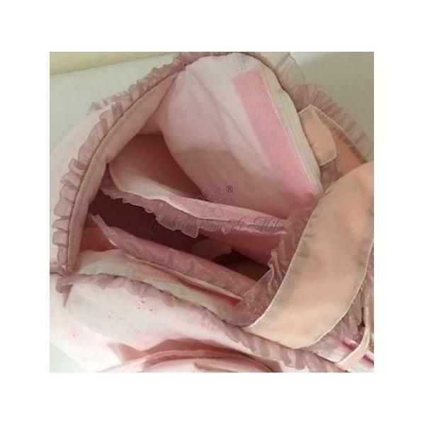 Borsa Trasportino Mon Amour De Luxe Pink San Gallo Grace Graciola