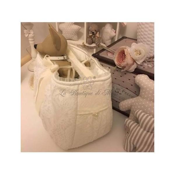 Borsa Trasportino Very Lace White Bag Grace Graciola