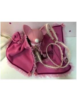 Copertina in Pile Pink Grace Graciola