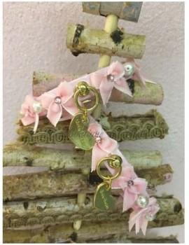 Pearl & Bow Collar Pink Grace Graciola