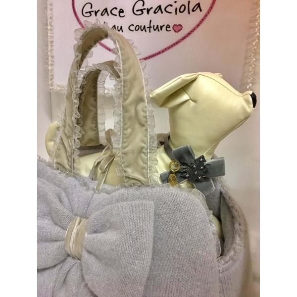 Borsa Trasportino Mon Amour in Wool Grace Graciola