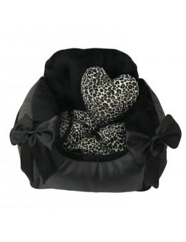 Seggiolino Trasportino per Auto Divanetto Special Black Leopard