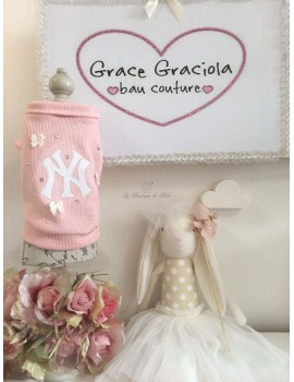 I Love New York In Pink Grace Graciola