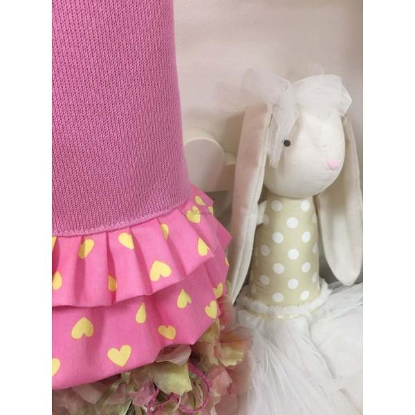 Pink Heart Toptank Jacket Grace Graciola