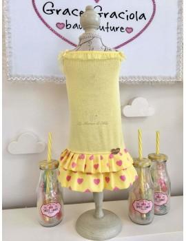 Yellow Heart Toptank Jacket Grace Graciola