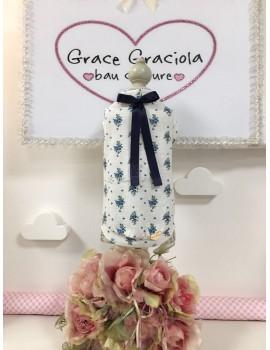 My Blue Fairy Flowers T-Shirt Grace Graciola