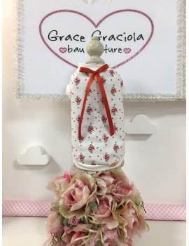 My Blue Fairy Flowers Bicolor T-Shirt Grace Graciola