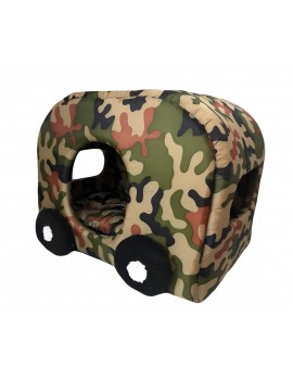 Cuccia a Roulotte Army Camouflage