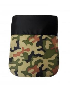 Sacco Nanna Black Army Camouflage Soft