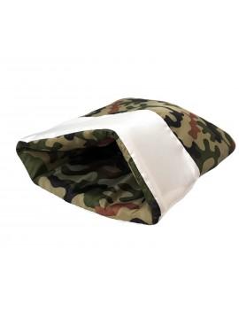 Sacco Nanna White Army Camouflage Soft
