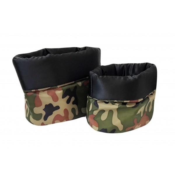 Sacco Cuccia Special Black Army Camouflage