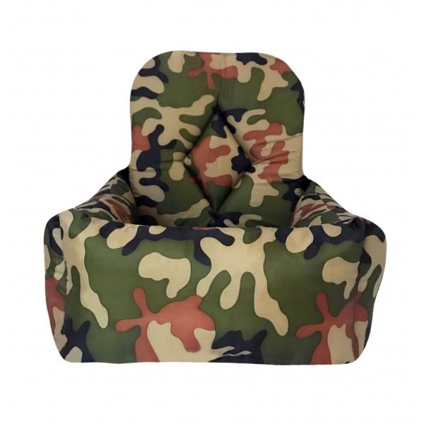 Seggiolino Trasportino per Auto Army Camouflage