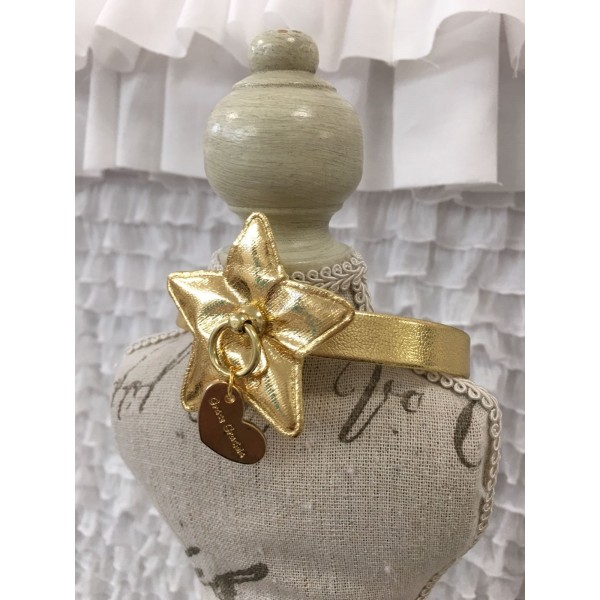 Gold Star Collar Grace Graciola