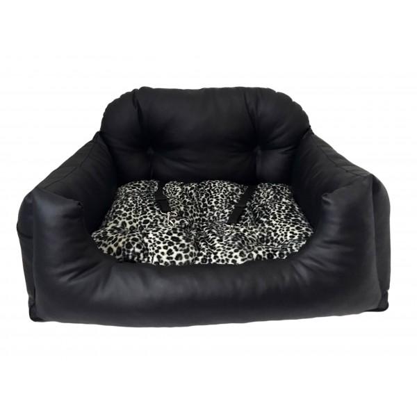 Seggiolino Trasportino per Auto BIG Extra Luxury Black Leopard