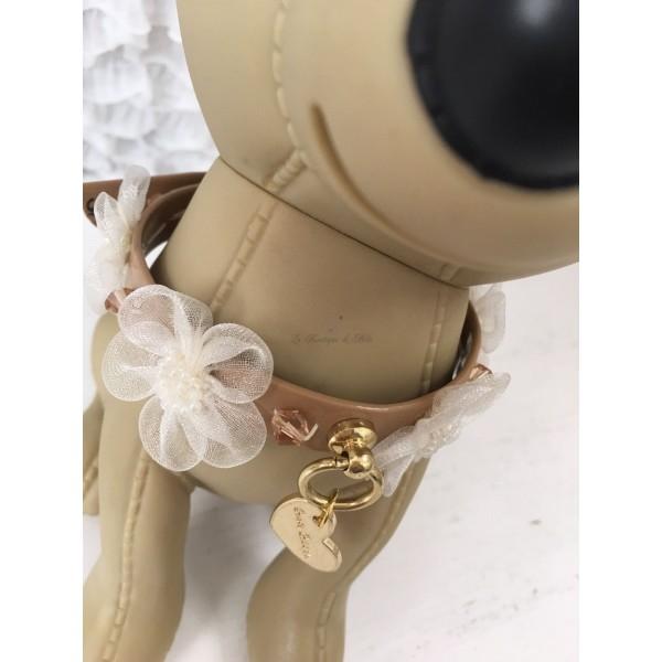Organza Flower Collar Grace Graciola