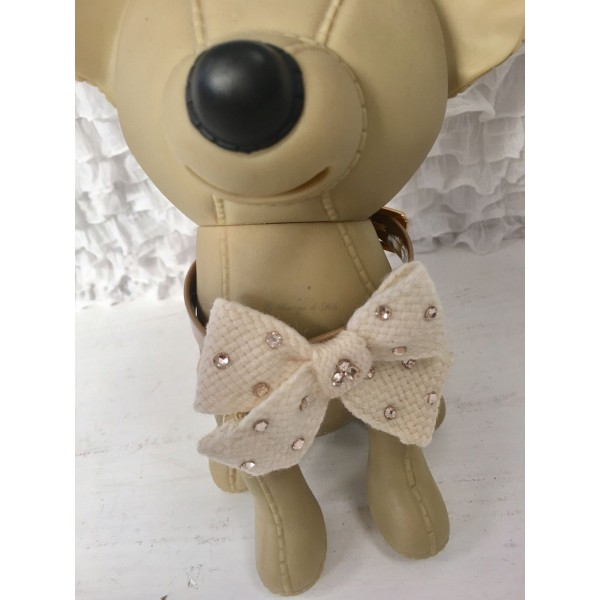 Precious Wool Bow Collar Grace Graciola