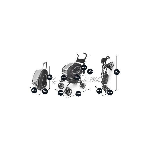 Trolley Innopet 4 in 1