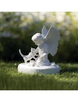 Lapide Commemorativa Gatto Con Angioletto