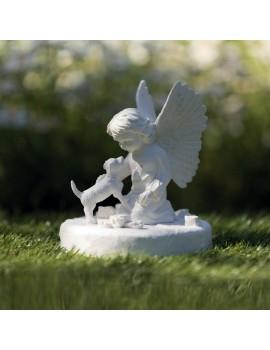 Lapide Commemorativa Cane Con Angioletto