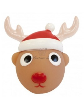 Gioco in Gomma Christmas Vynil Reindeer Ball