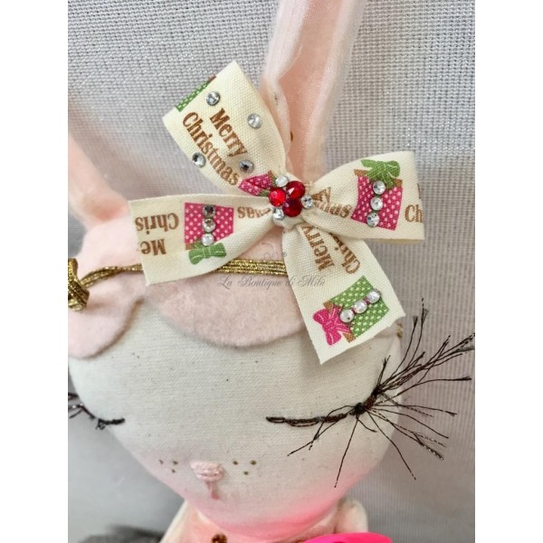 Fiocchetto con Elastico Special Precious Candy Cane Grace Graciola