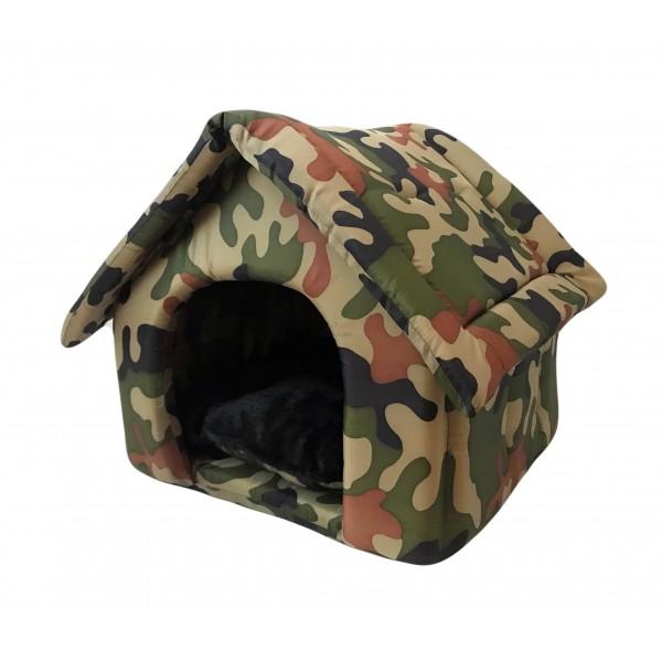 Cuccia a Casetta Army Camouflage