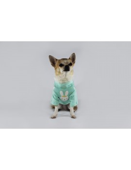 Bunny Long Sleeved Shirt Mint Sparkling Dog