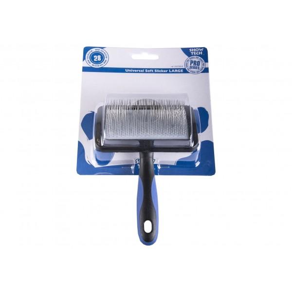 Cardataore Show Tech Universal Soft Slicker Tiny Slicker Brush