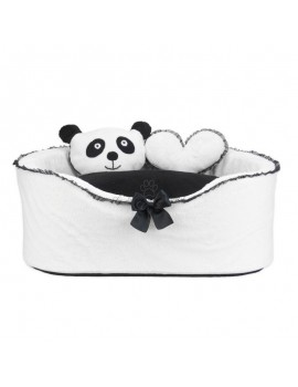 ONLY COVER OF PANDA BED WHITE Piccoli Pets