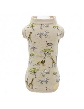 Piccoli Pets Safari T-Shirt Beige
