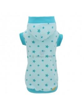 Piccoli Pets Star Sweatshirt Aqua