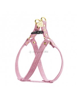 Piccoli Pets EASY UP HARNESS MAGIC PINK/GOLD