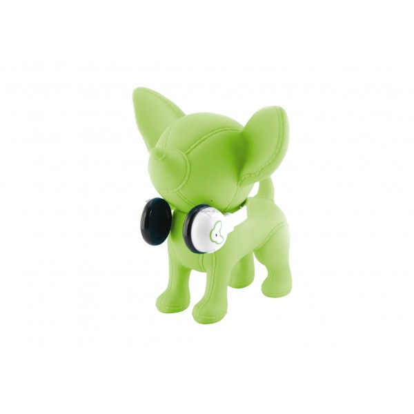Salvadanaio Chihuahua Music Lime