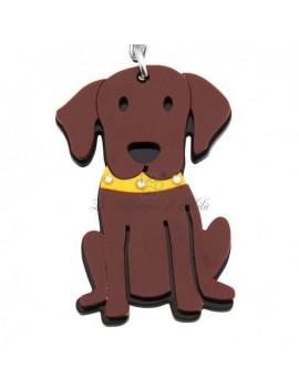 Portachiavi Chocolate Labrador