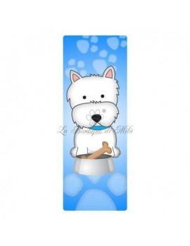 Segnalibro Westie Terrier