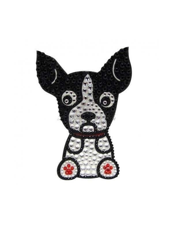 Sticker boston terrier la boutique di milu for Acqua salon boston