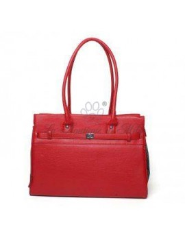 Monaco Pet Tote: RED