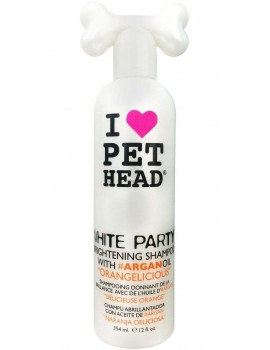 Pet Head Shampoo White Party