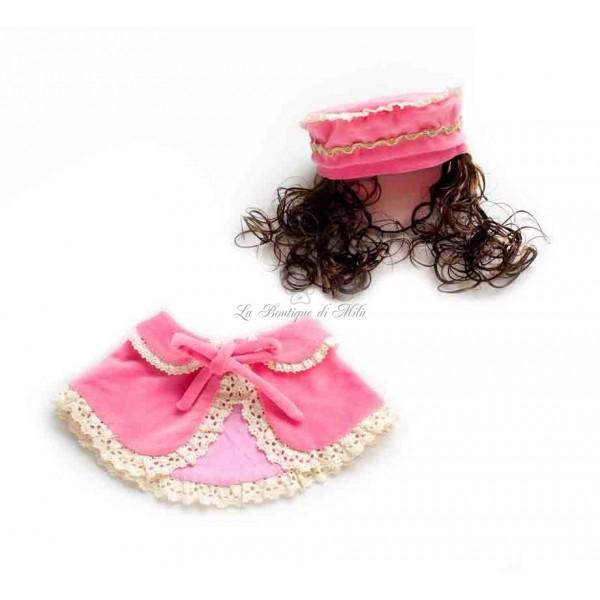 la migliore vendita il più votato a buon mercato compra meglio Set Cappellino e Mantellina Dama Veneziana